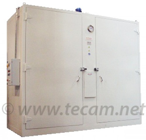 HEATING CABINET FOR 16 DRUMS/4 IBC