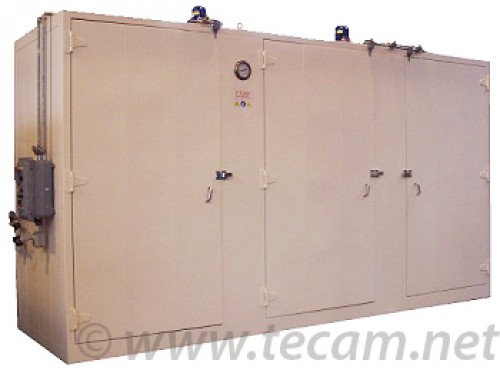 HEATING CABINET FOR 24 DRUMS/6 IBC