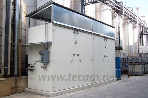 HEATING CABINET FOR 32 DRUMS/8 IBC