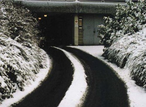 SNOW-MELT MATS FOR GARAGE RAMPS AND WALWAYS